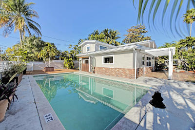 Key West, Stock Island, Geiger, Key Haven, Shark Key Single Family Home For Sale: 1701 Atlantic Boulevard