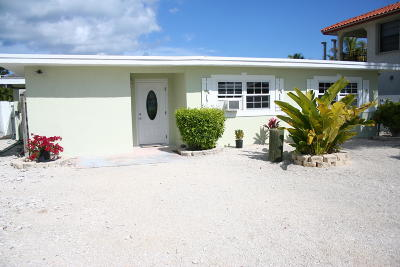 Key Largo Single Family Home For Sale: 829 Bonito Lane