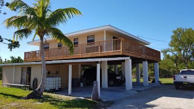Big Pine, No Name Single Family Home For Sale: 29970 Ocean Lane