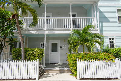 Key West, Stock Island, Geiger, Key Haven, Shark Key Condo/Townhouse For Sale: 206 Southard Street #3