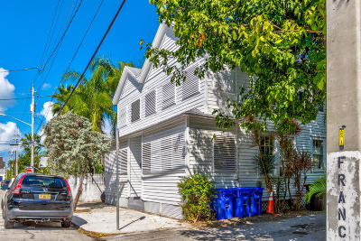 Key West Single Family Home For Sale: 507 Frances Street