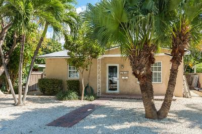 Key West, Stock Island, Geiger, Key Haven, Shark Key Single Family Home For Sale: 1518 Laird Street