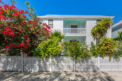 Key West Single Family Home For Sale: 623 Louisa Street #4