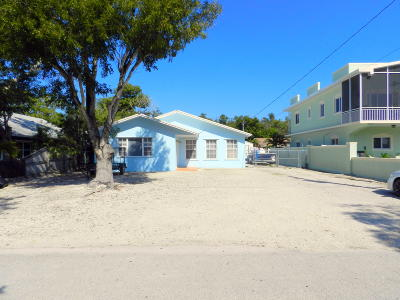 Key Largo Single Family Home For Sale: 8 N End Road