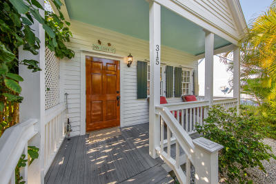 Key West, Stock Island, Geiger, Key Haven, Shark Key Single Family Home For Sale: 315 Virginia Street