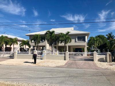 Key Largo Single Family Home For Sale: 12 Corrine Pl Place