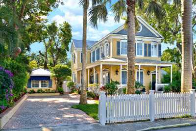 Key West FL Single Family Home For Sale: $3,499,000