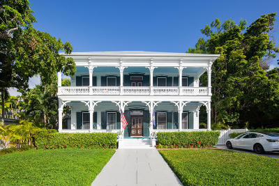 Key West FL Single Family Home For Sale: $5,840,000