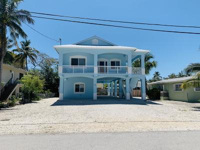 Key Largo Single Family Home For Sale: 57 Bahama Avenue
