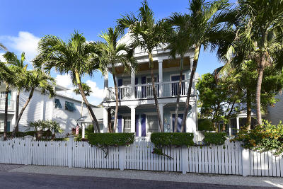 Key West, Stock Island, Geiger, Key Haven, Shark Key Single Family Home For Sale: 44 Sunset Key Drive