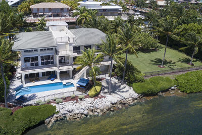 Key Largo Single Family Home For Sale: 543-544 Ocean Cay Drive