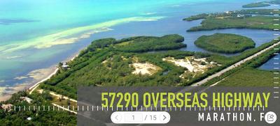 Monroe County Residential Lots & Land For Sale: 57290 +/- Overseas Highway