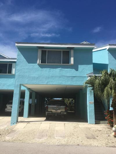 Key Largo Condo/Townhouse For Sale: 9828 Leeward Avenue
