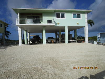 Key Largo Single Family Home For Sale: 129 Grassy Road