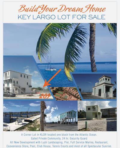 Residential Lots & Land For Sale: 94825 Overseas Highway #209