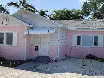 Key West Single Family Home For Sale: 2613 Fogarty Avenue