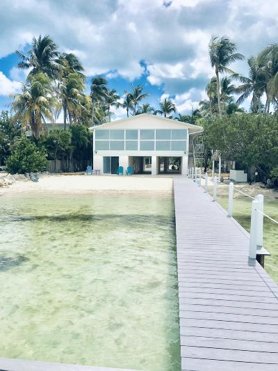 Islamorada Single Family Home For Sale: 75180 Overseas Highway