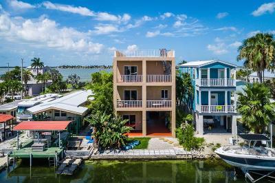 Sugarloaf, Cudjoe, Saddle Bunch Single Family Home For Sale: 39 Palm Drive