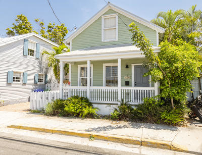 Key West, Stock Island, Geiger, Key Haven, Shark Key Single Family Home For Sale: 1124 Eaton Street