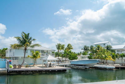 Key Largo Single Family Home For Sale: 185 Ocean View Drive #185