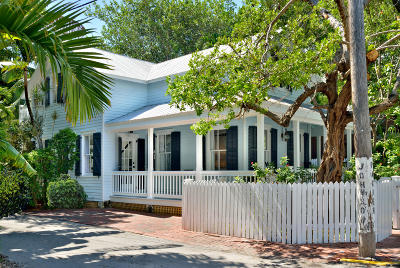 Key West FL Single Family Home For Sale: $1,995,000