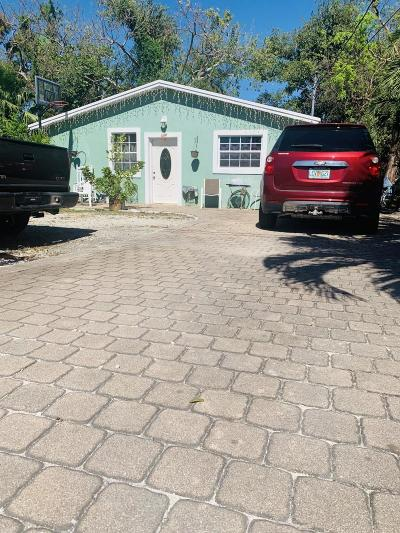 Key Largo Single Family Home For Sale: 44 Judy Place