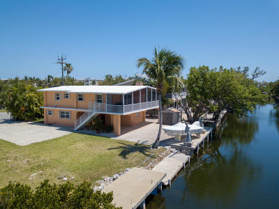 Islamorada Single Family Home For Sale: 126 Gulfview Drive