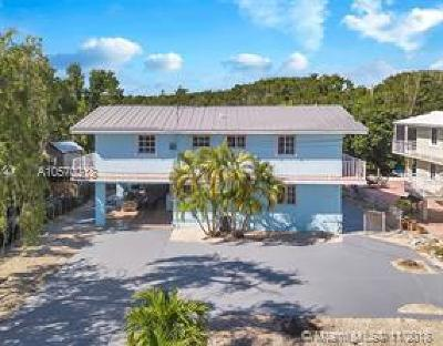 Key Largo Single Family Home For Sale: 647 La Paloma Road