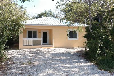 Single Family Home For Sale: 472 Beach Road