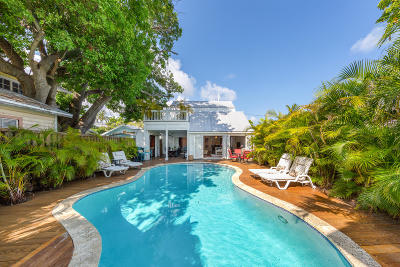Key West Single Family Home For Sale: 618 Whitehead Street