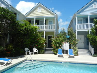 Key West Condo/Townhouse For Sale: 606 Truman Avenue #2