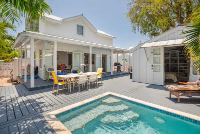 Key West Single Family Home For Sale: 321 Catherine Street