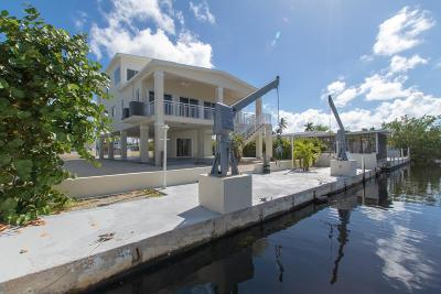 Key Largo Single Family Home For Sale: 162 Long Key Road