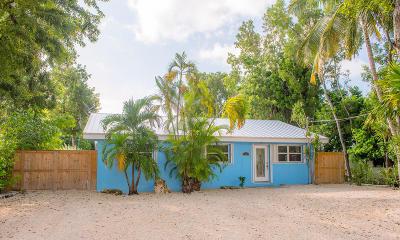 Tavernier Single Family Home For Sale: 142 Pueblo Street