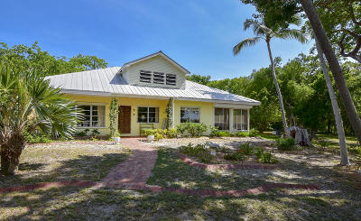 Islamorada FL Single Family Home For Sale: $1,250,000