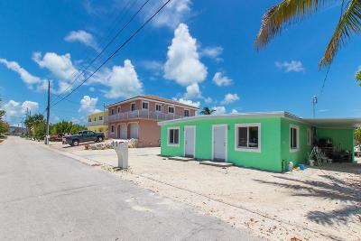 Marathon Half Duplex For Sale: 576 99th St Ocean