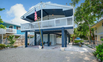 Key Largo Single Family Home For Sale: 12 Meridian Avenue