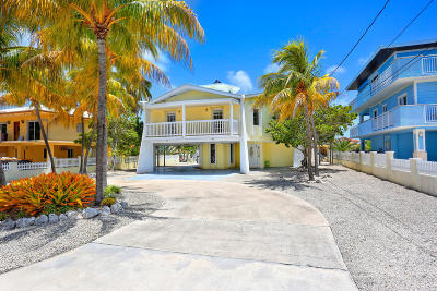 Key Largo Single Family Home For Sale: 184 Bahama Avenue
