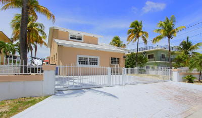 Key Largo Single Family Home For Sale: 239 Atlantic Boulevard