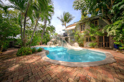 Key West Single Family Home For Sale: 1405-1409 United Street