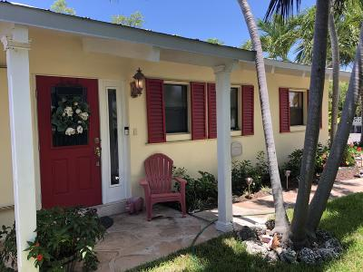 Key West, Stock Island, Geiger, Key Haven, Shark Key Single Family Home For Sale: 25 Azalea Drive