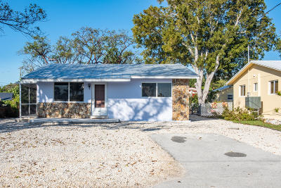 Key Largo Single Family Home For Sale: 18 Drury Drive