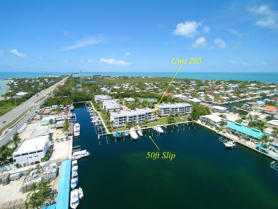 Islamorada Condo/Townhouse For Sale: 101 Gulfview Drive #205
