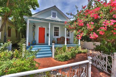 Key West FL Single Family Home For Sale: $824,000