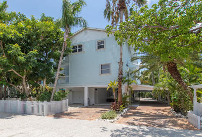 Islamorada Single Family Home For Sale: 117 Seashore Drive