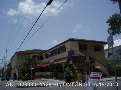 Key West Commercial For Sale: 1128 Simonton Street