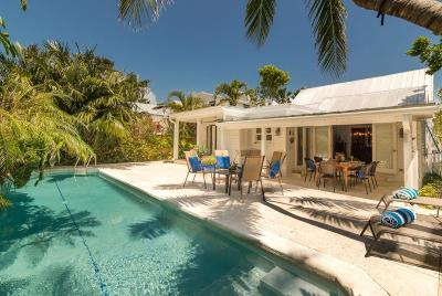 Key West FL Single Family Home For Sale: $2,190,000