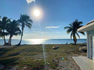 Single Family Home For Sale: 58080 Overseas Highway