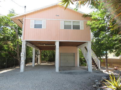 Key Largo Single Family Home For Sale: 23 Meridian Avenue