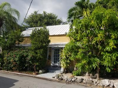 Key West FL Single Family Home For Sale: $3,500